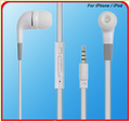 Earphone With Mic And Control For Mobile Phone