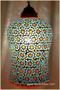 Glass Mosaic Haging Lamp