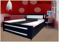 Metal Double Bed With Storage