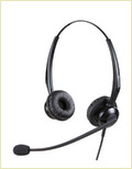 Binaural Noise Cancelling Telephone Headset-Mrd-510d