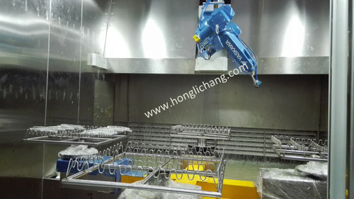 Robot Srpay Uv Coating Line For Reflectors