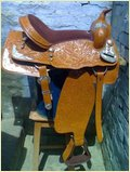 Leather Western Saddle (Treed)