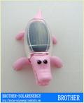 Toy Solar Crocodile Power