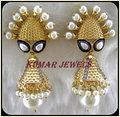 Mughal Pearl Jhumki Earring