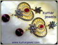 Designer Mughal Fillgri Earrings