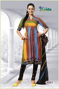 Ladies Cotton Printed Designer Suit