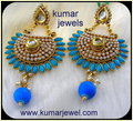 Pearl Beaded Jhumkas