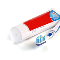 Toothpaste & Tooth Brush