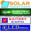 Solar Today, LED India & Battery Expo 2018