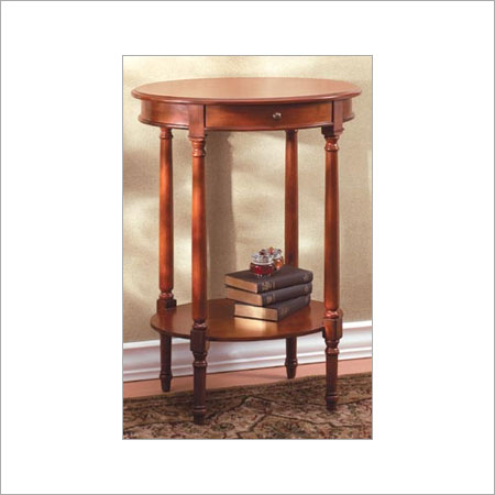 Wooden Console Table in  Mandore