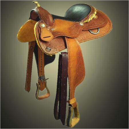 Tooled Western Saddle