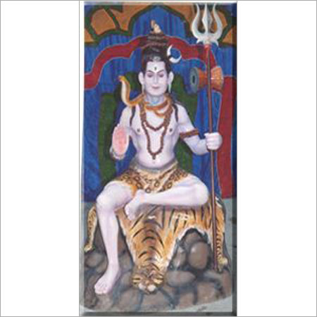 Shiva Fiber Statue
