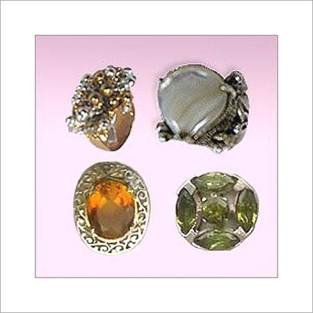Silver Gemstone Rings