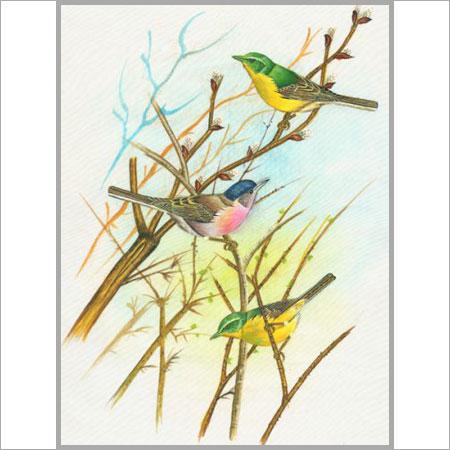 Birds Painting in Paldi, Ahmedabad - MONA EXPORTS