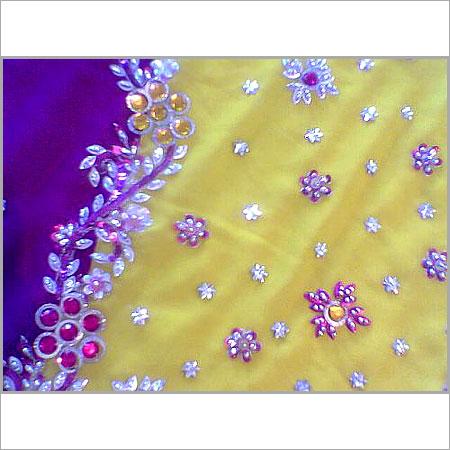 Designer Embroidery Work Sarees In Mangadu Chennai Tamil