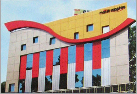Aluminium Composite Panel In Nehru Road Ville Parle E Mumbai Cee Gee Industries Pvt Ltd