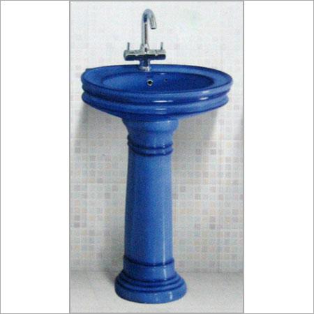 Designer pedestal wash basin in dist morbi morbi for Modern wash basin india