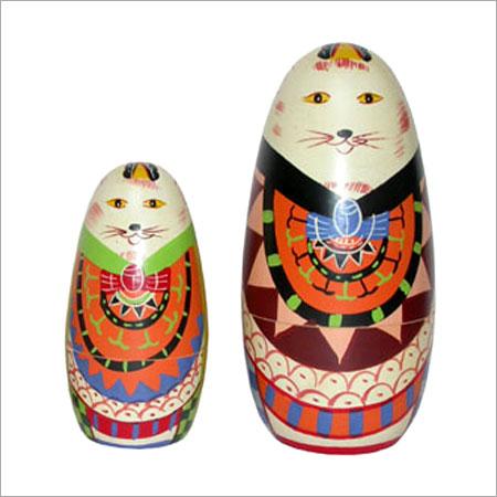 Handmade Nested Wooden Dolls