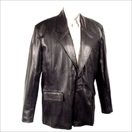 Leather Coat in  Sion