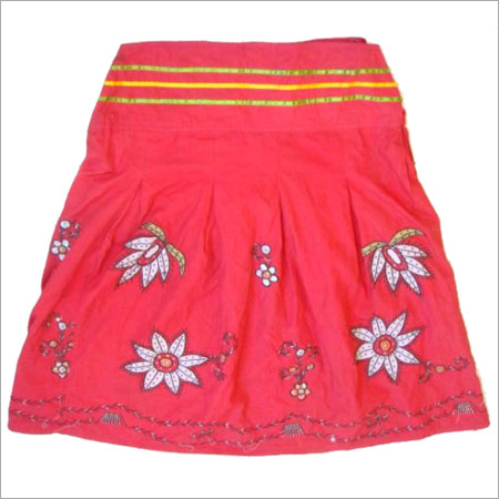 Embroidered Skirt in  Sikar Road