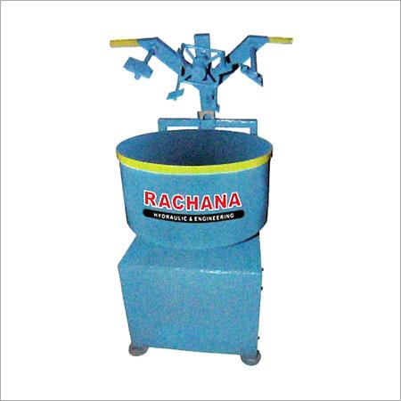 Hydraulic Pan Mixer