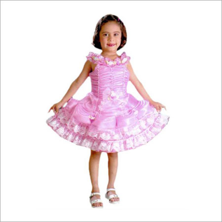 Girls Party Frock in  High Cort Road