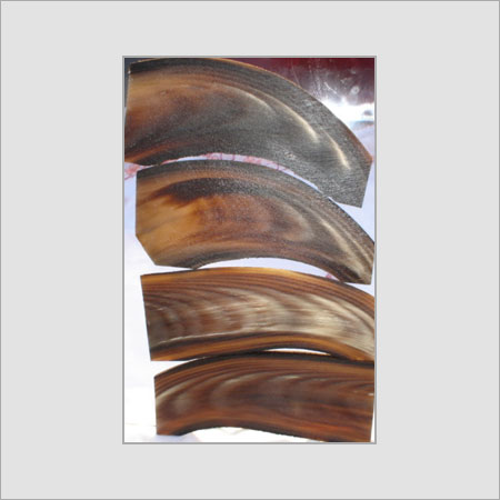 Buffalo Horn Optical Plates Blank Tips