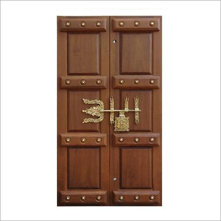 Traditional wooden door in chennai tamil nadu india for Traditional wooden door design ideas