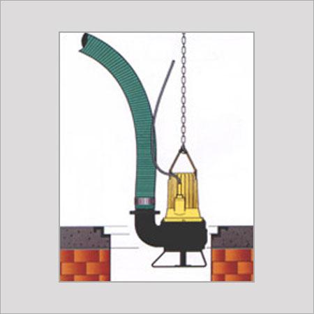 Portable Submersible Non Clog Manhole Sewage Pumps