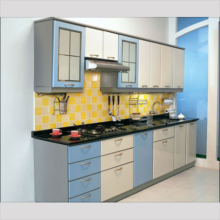 Designer modular kitchen in new area ludhiana seiko for Modular kitchen designs for small kitchens in india