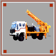 Rotary Cum DTH Drilling Rig