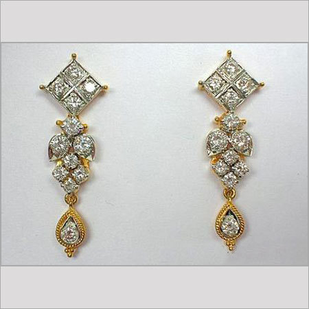 Diamond Ear Tops