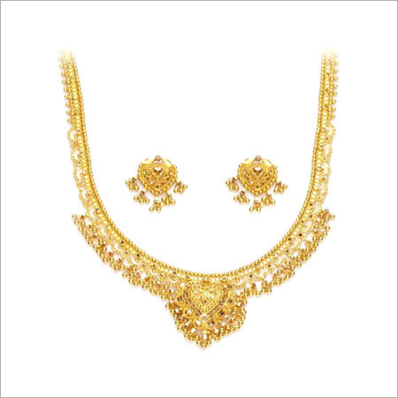 Gold Necklaces In Hyderabad Telangana India P Satyanarayan