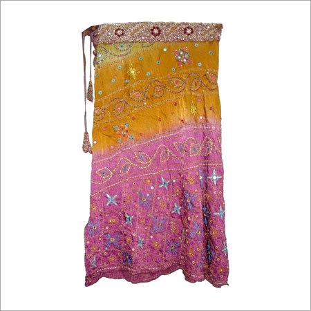 Satin Silk Skirt in  Mahaveer Nagar