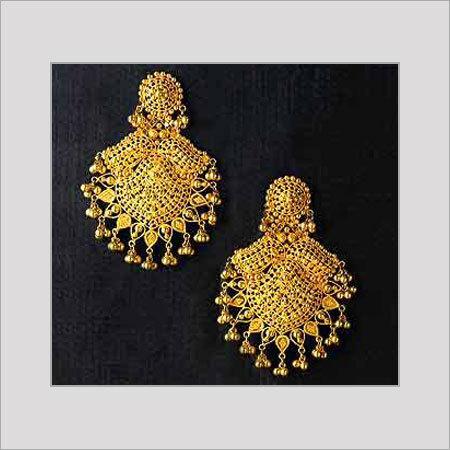 Gold Earrings In Chennai Tamil Nadu India Grt Jewellery