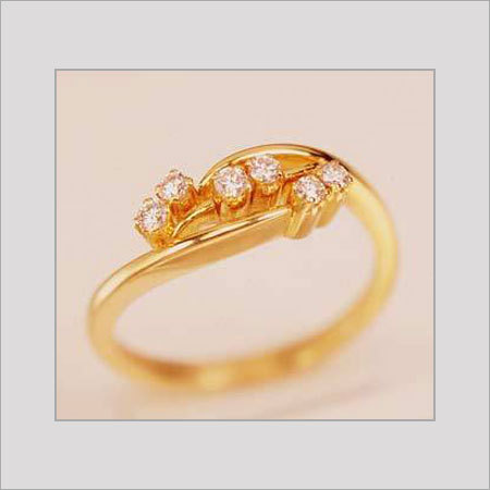 Diamond Studded Gold Rings in Chennai Tamil Nadu GRT