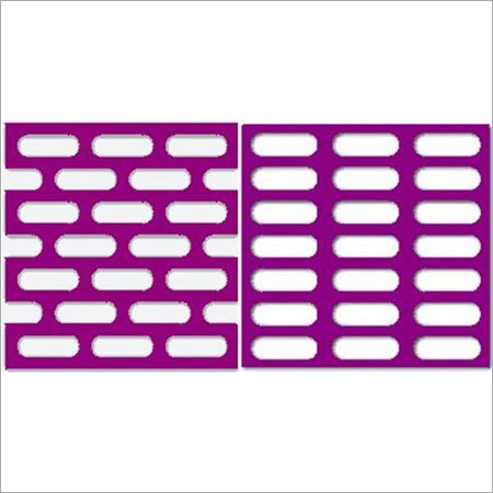 Perforated Sheet - Slotted Holes