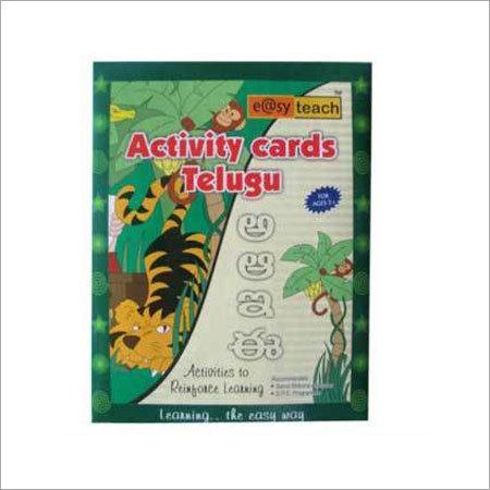 Activity Cards Telegu in  Vishwas Nagar (Shahdara)