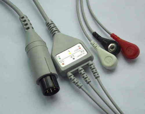 3-LEAD ECG Cable