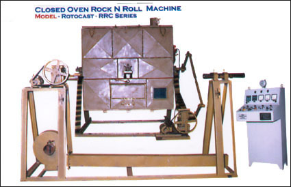 Rotocast Rrc Closed Oven Machines