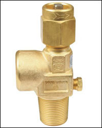 Acetylene Valve with Fusible Plug in  New Area