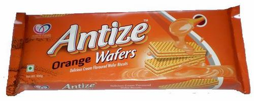 Antize Orange Wafer Biscuit