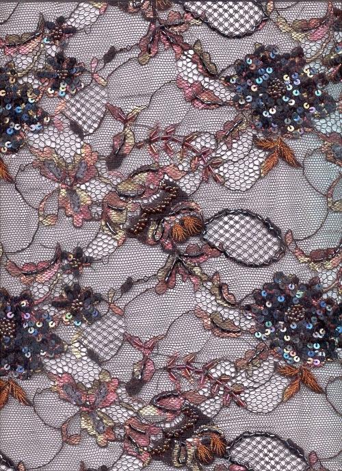 Hand embroidered lace fabric in new alipore kolkata