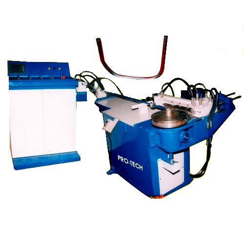 Hydraulic Pipe Bending Machines : Hydraulic pipe bending machines in focal point phase
