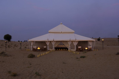 Mughal Tent in Behind Kingfisher & Mughal Tent in Ambala Haryana India - GARG INTERNATIONAL