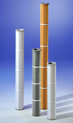 160 Mm Dust Filter Cartridge Piltex