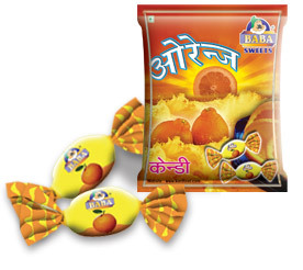 Baba Orange Candy