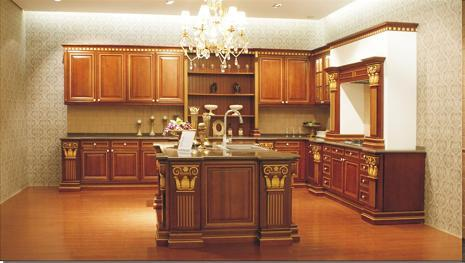 Wooden kitchen cabinets in guangzhou guangdong for Kitchen cabinets jaipur