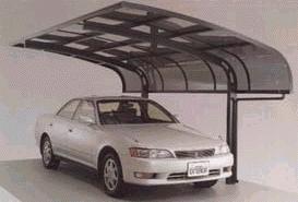Polycarbonate Car Sheds