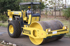 Greaves Bomag Single Drum Vibratory Rollers